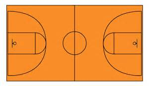 basketball court design template basketball courts vector stencils library