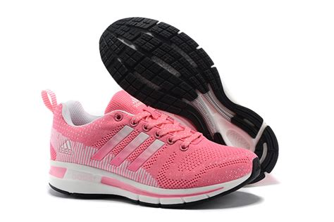 Adidas Flyknit Boost s adidas questar flyknit boost running shoes pink white adidas2016 running 990025 84