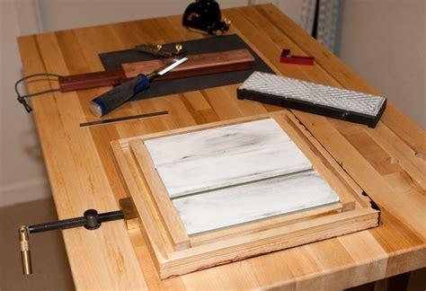 sharpening bench sharpening bench and jig by kw193 lumberjocks com