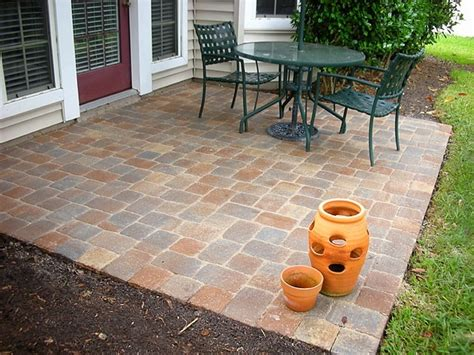 Easy Paver Patio Simple Patio Ideas With Pavers Ketoneultras