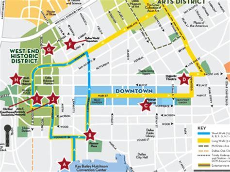 maps dallas dallas maps downtown neighborhood mass transit maps