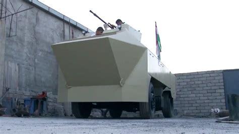 homemade apc iraqi blacksmith builds armored vehicle