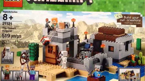 lego minecraft summer 2015 sets revealed