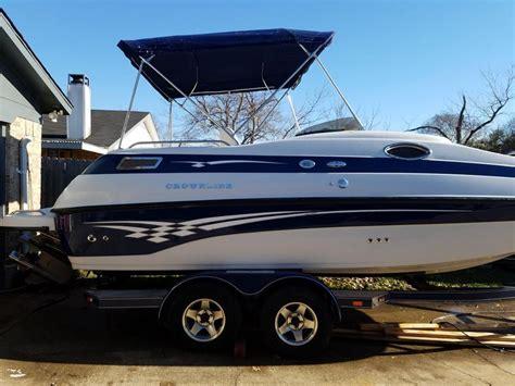 crownline boat table 2002 crownline 212 db powerboat for sale in texas