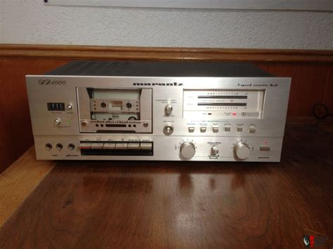 marantz cassette marantz sd4000 cassette deck photo 652918 canuck audio mart