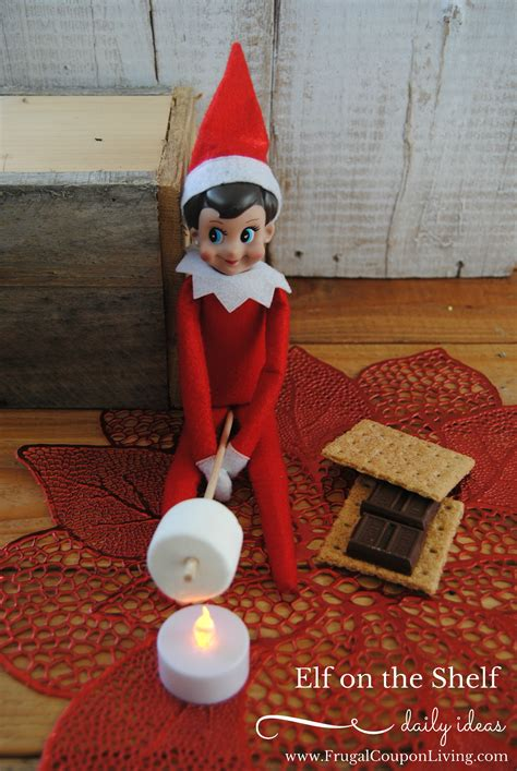 elf on the shelf ideas elf makes s mores