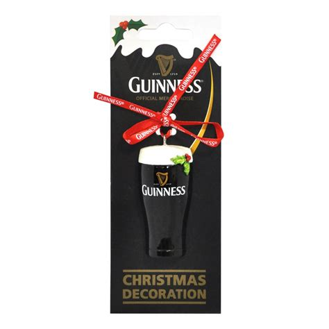 guinness guinness christmas pint ornamaent from guinness