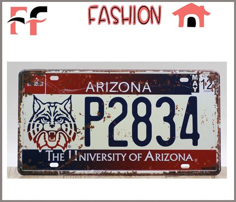 metal signs for home decor newest vintage metal tin signs the university of arizona
