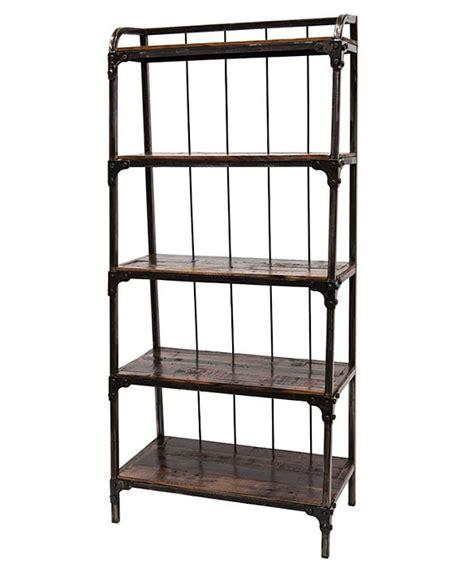 librerie ferro battuto libreria ferro battuto stile industrial in offerta on line