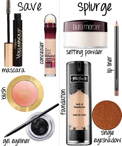 Eyeshadow High End drugstore makeup tutorial save splurge products