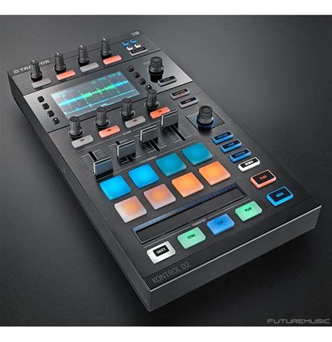 Instruments Traktor Kontrol D2 instruments announces d2 dj performance controller futuremusic the news on