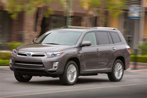 2013 Toyota Highlander Mpg 2013 Toyota Highlander Hybrid Reviews And Rating Motor Trend