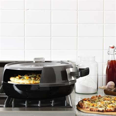 pizzeria pronto stovetop pizza oven pizzeria pronto stovetop pizza oven williams sonoma