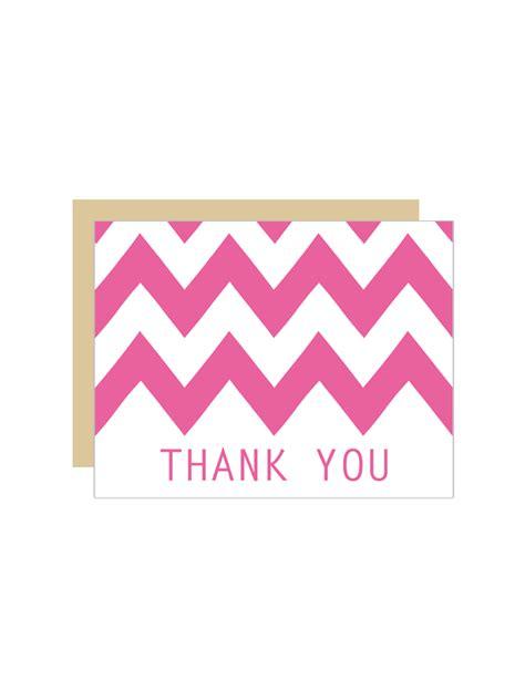 printable thank you card creator free printable chevron wedding thank you cards