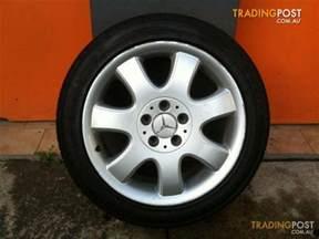Mercedes Alloy Wheels For Sale Mercedes Clk 430 17 Inch Genuine Alloy Wheels For Sale In
