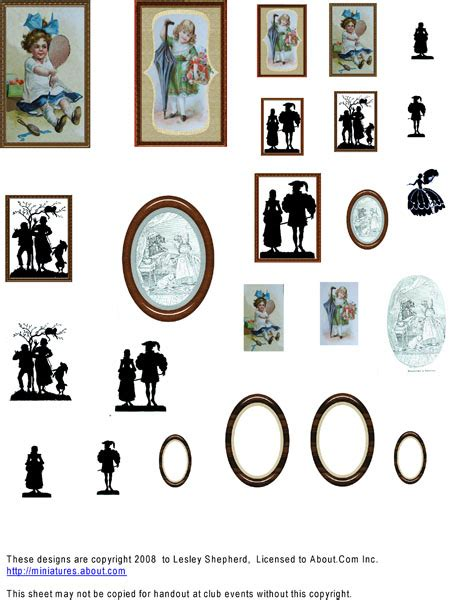 dolls house free printables wall printable images gallery category page 1 printablee com