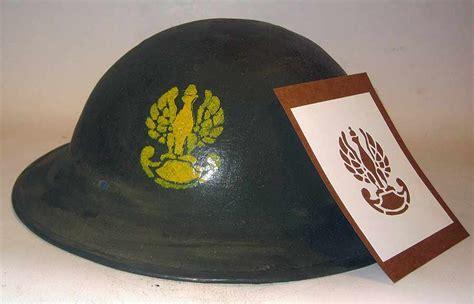 Helm Kyt R10 Sticker Army ww2 helmet stencil template polski kask wzornik szablon wwii polska ebay
