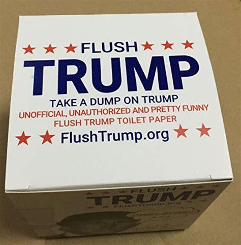 Tempat Tissue Donald 100 Original by Flushtrump Donald Toilet Paper Innoculous