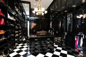 Luxury Foyers Black And White Closet Contemporary Closet Har