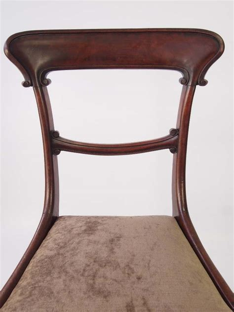 antique mahogany side chairs pair antique mahogany side chairs