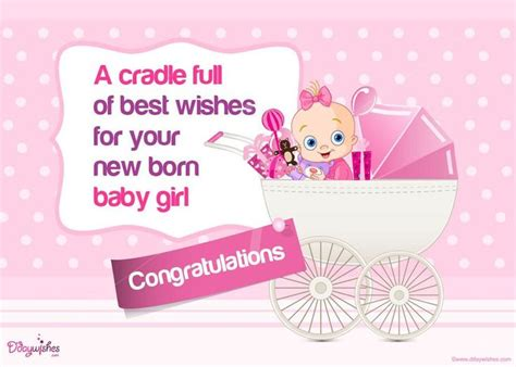 free printable greeting cards new born baby get highly creative new baby girl congratulation cards