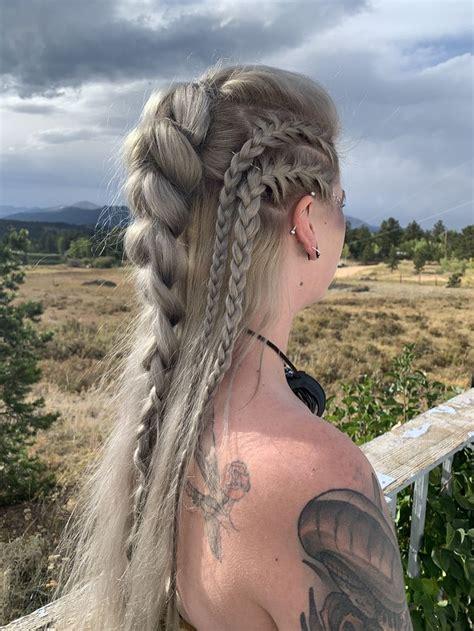 viking hair viking hair hair styles braids  long hair