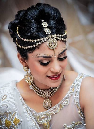 10 Indian Bridal hairstyles for Weddings, Cocktail and