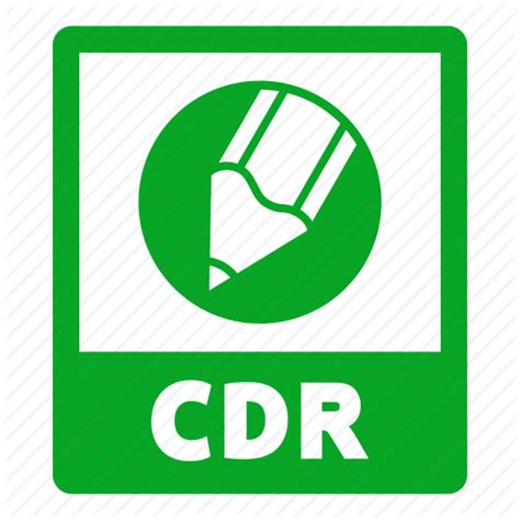 format file corel cdr cdr file document extension file format icon
