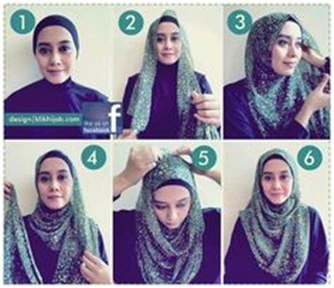 tutorial jilbab rounded shape 1000 images about cara pake jilbab on pinterest hijab