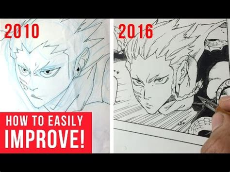How To Get Better At Drawing Anime