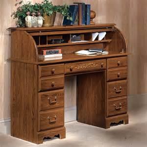 Riverside Roll Top Desk riverside roll top desk traditional oak at hayneedle
