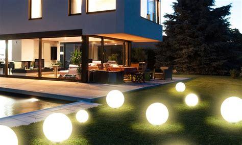 illuminazione giardino solare giardino ad energia solare groupon goods