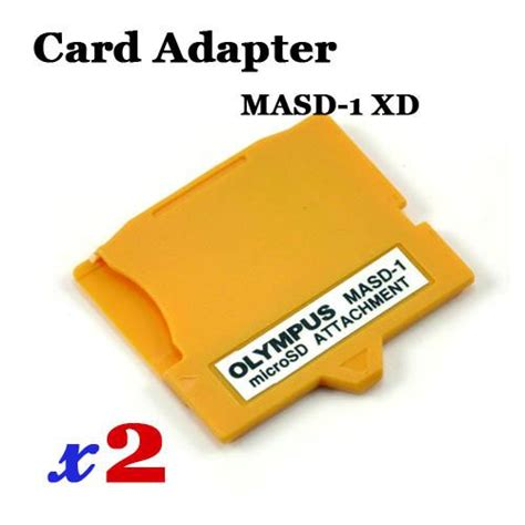 Microsd Tf Card Card To Xd Card Adapter Masd 1 ad302 x2 new masd 1 micro sd tf to xd picture card adapter