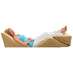 back bed pillow wedge cushion pillow bed support back pain relief lumbar sleep comfort acid ebay