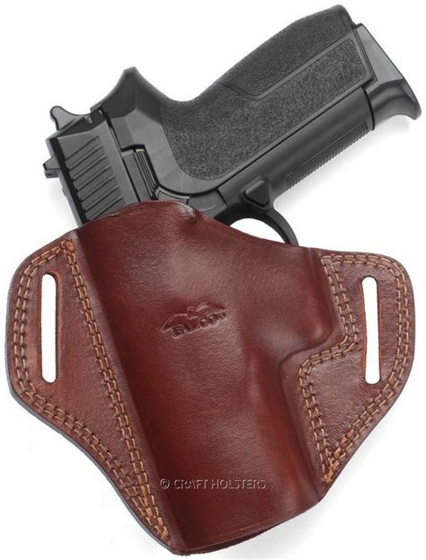 open top leather belt holster craft holsters 174