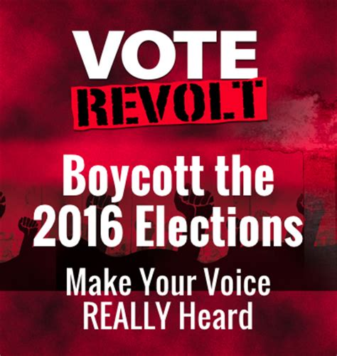 Whats Happening With Vote In The Poll by Happening In Usa Voting Boycott Of 2016 Presidential