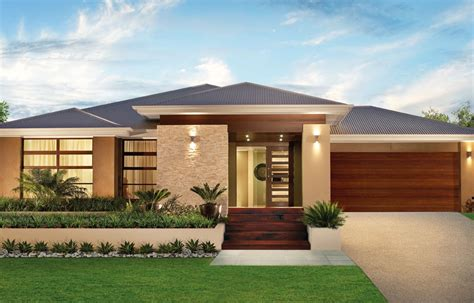 modern home design plans one floor single story modern home design simple contemporary house