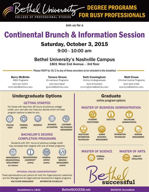 Bethel Mba Program Reviews by Undergraduate Programs Bethel Autos Post