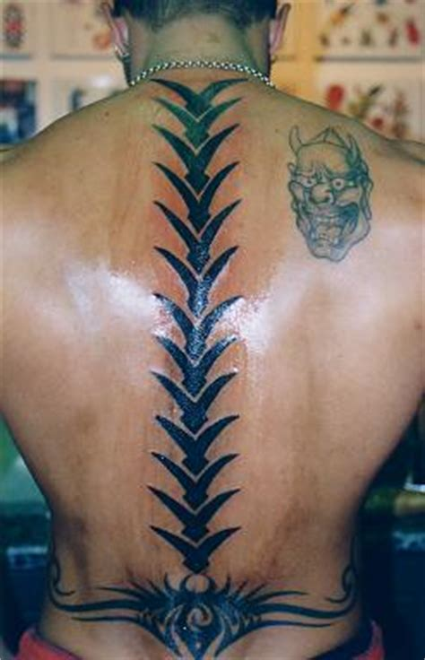spine tattoos is the new kamal birds cool new spine tribal tattoos design