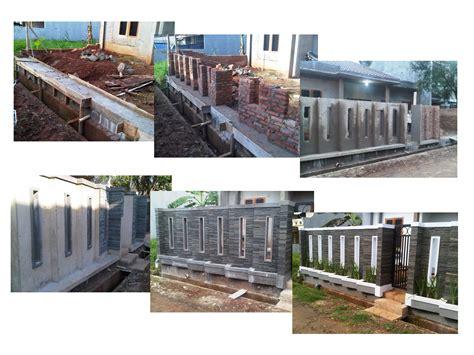 desain gambar pagar depan rumah gambar desain pagar tembok depan rumah info lowongan