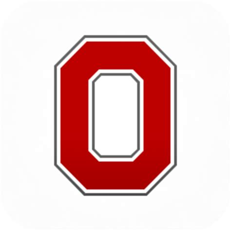 Ohio State Block O Outline by Best Photos Of Osu Logo Stencil Ohio State Buckeyes Logo Coloring Pages Ohio State Block O