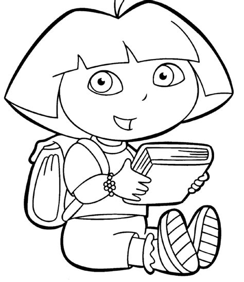easter coloring pages dora dora coloring pages dora the explorer coloring pages
