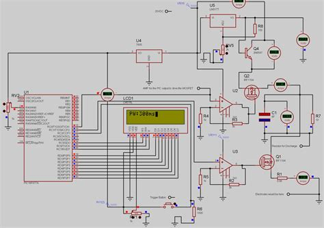 capacitor discharge welder circuit cd spot welder design needs comments and suggestions