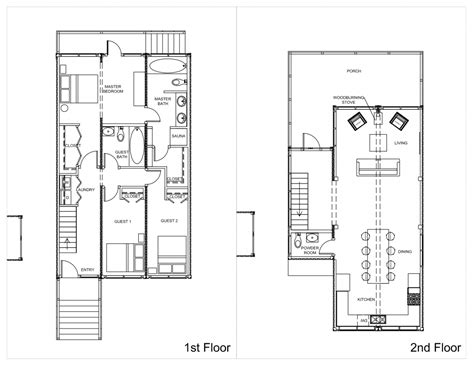 floor plans for storage container homes storage container house plans container house design