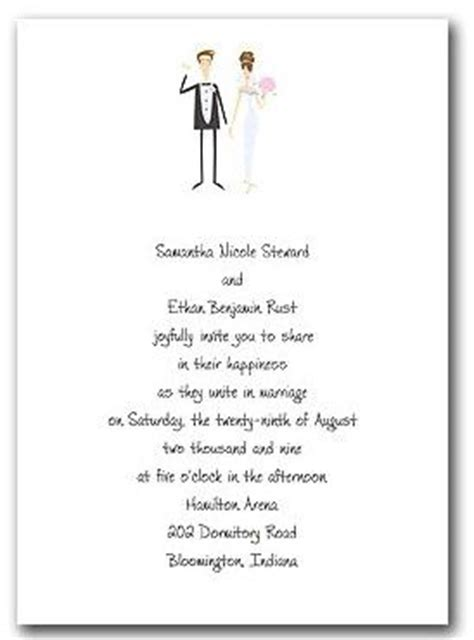 template for wedding card from to groom wedding invitation wording and groom hosting