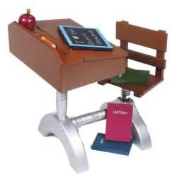 American School Desk Set by 18 Quot Doll 1930 Style Wood School Desk Furniture