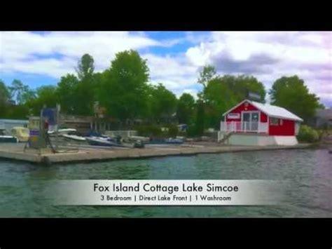 Fox Island Cottage For Sale Lake Simcoe Re Max Youtube Cottages For Sale On Lake Simcoe