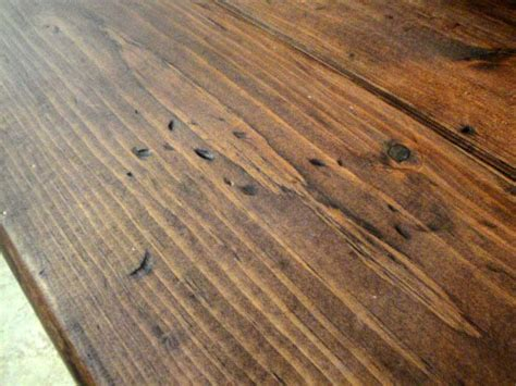 Distressed Flooring Techniques - hout oud maken tips voor oud hout praxis