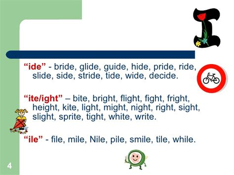 Words That Rhyme With Light by Word Families Rhyming Words 3