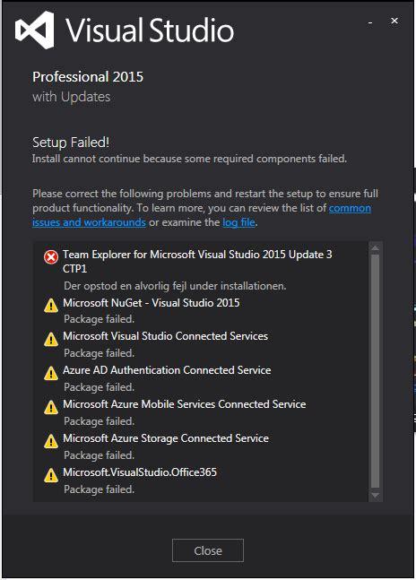 installing visual studio 2015 msdnmicrosoftcom install repare problem on visual studio 2015 professional